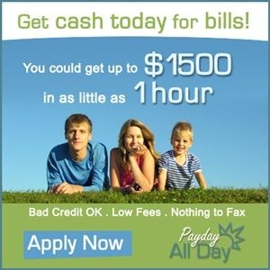 Payday loans that don't require a bank account