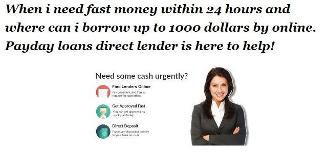 Pay day loans no bank account needed