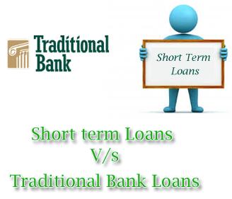 Bank short term loans