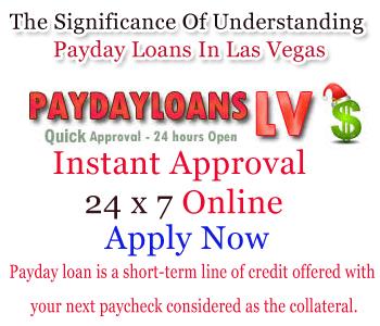 Payday loans no bank account las vegas